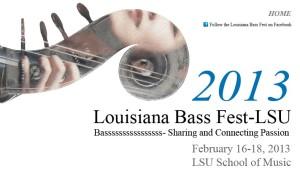 Louisiana Bass Fest 2013