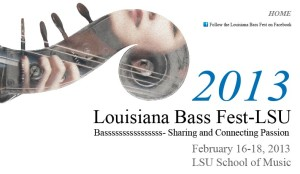 Louisiana Bass Fest 2013